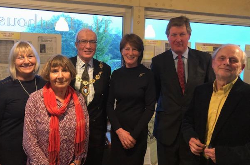 Lord Lieutenant at a Eglantyne Jebb evening