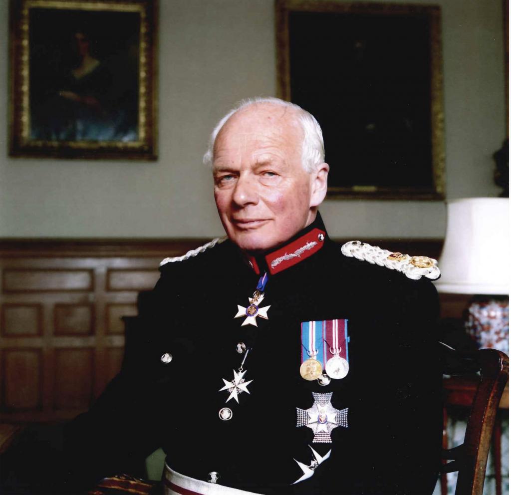 Former Lord-Lieutenant of Shropshire Sir Algernon Heber-Percy KCVO