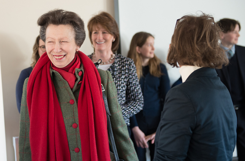 HRH The Princess Royal Opening Cavalier Centre