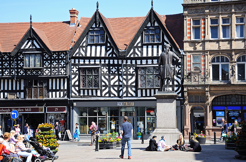 The Square, Shrewsbury, Shropshire.