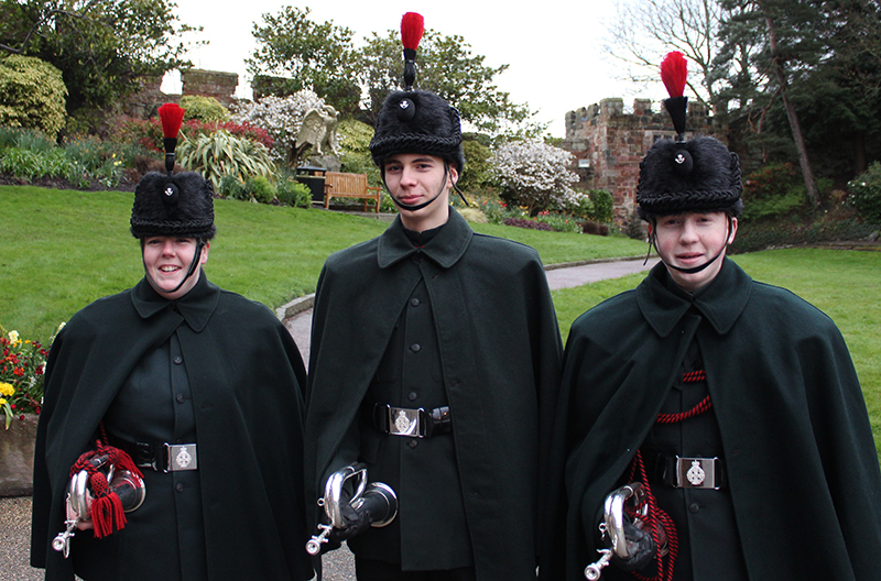 The Lord-Lieutenant's Cadets in Shropshire
