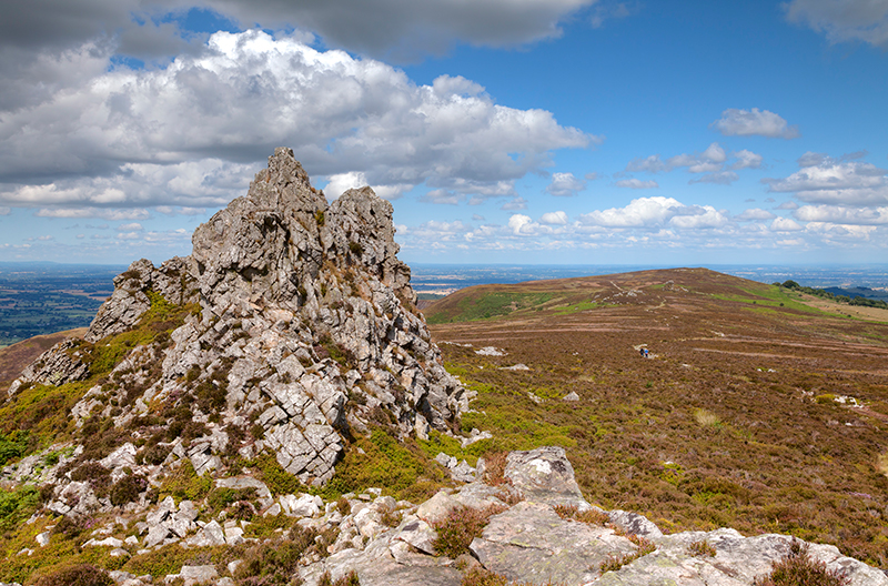 Stiperstones in Shropshire