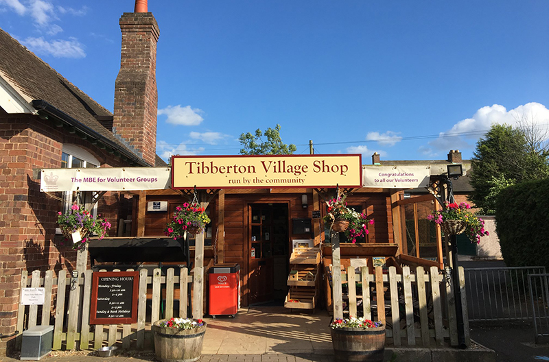 Tibberton Community Shop