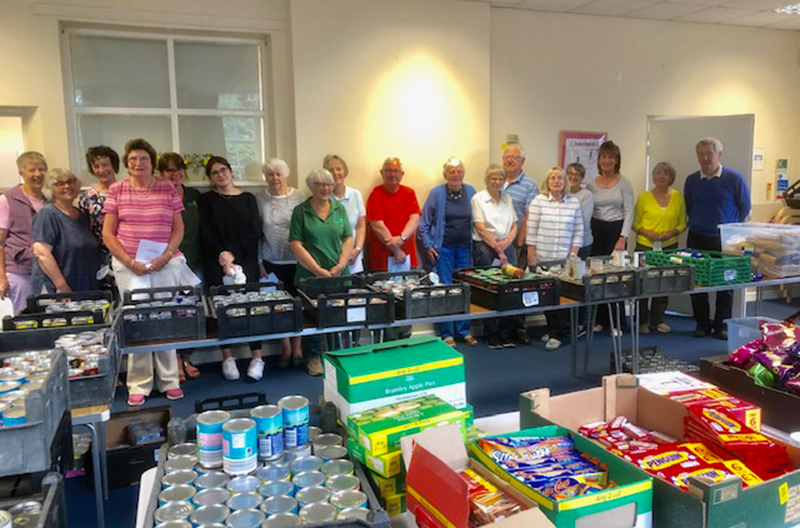 Foodbank in Shropshire