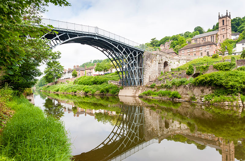 Ironbridge in Shropshire