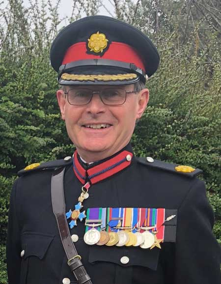 Vice Lord-Lieutenant Mark Cuthbert-Brown