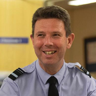Air Vice-Marshall Warren James CBE