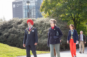 HRH Princess Royal with Anna Turner, Lord Lieutenant
