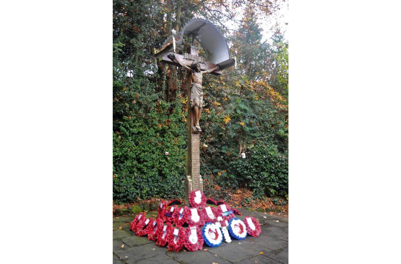 Albrighton & Cosford wreath laying