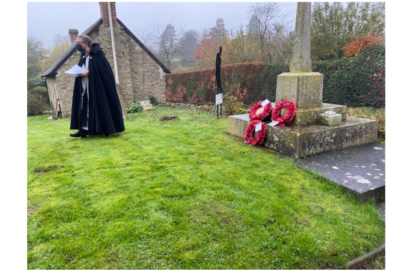 Corvedale Wreath Laying