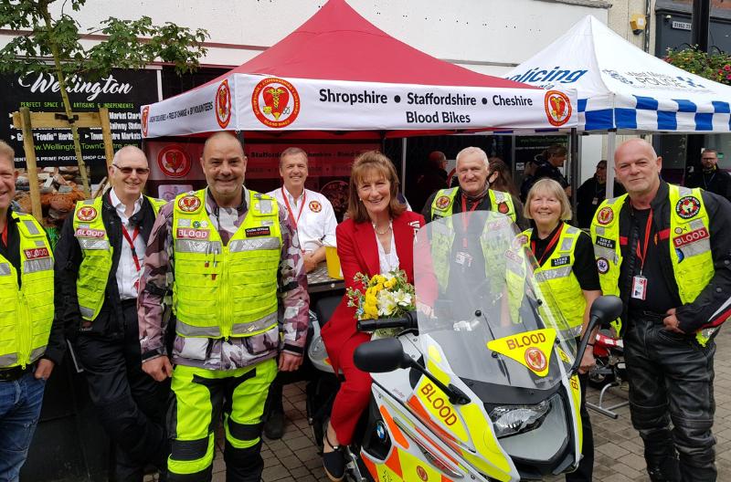 Blood Bikes - Shropshire, Staffordshire & Cheshire